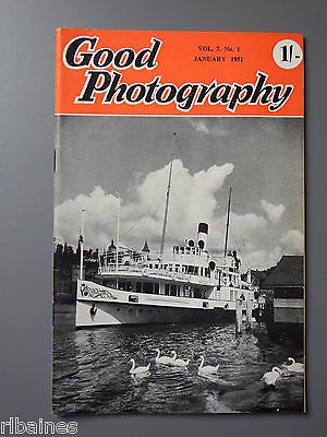 R&L Vintage Mag, Good Photography January 1951, Mixed Lighting/Skies