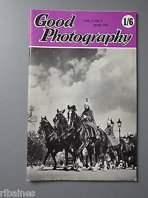 R&L Vintage Mag, Good Photography June 1951, Male Figure/Auto F Settings