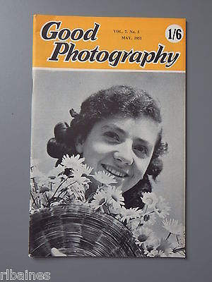 R&L Vintage Mag, Good Photography May 1951, Dimension/Children