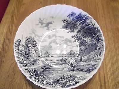 Staffordshire Blue Brook Bowl