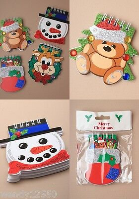 Pack Of 12 Assorted Christmas Design Note Books : Sp-9228 Pk12