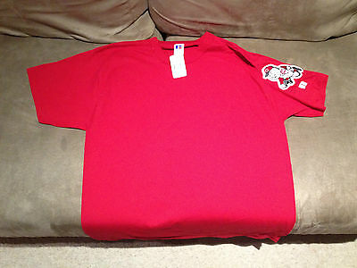 Brand New Cincinatti Reds Russell Athletics MBA Shirt Red Extra Large XL