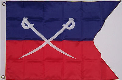 NEW LARGE 2ftx3ft GEORGE CUSTER 7th CAVALRY FLAG