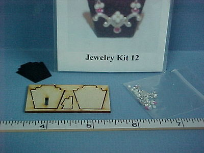 1//12th Scale Dragonfly Laser Cut Stand Miniature Jewelry Kit #JK024C