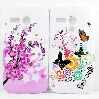 2pcs Soft TPU Skin Protector Mobile Phone Silicone Back Case For Motorola Moto G