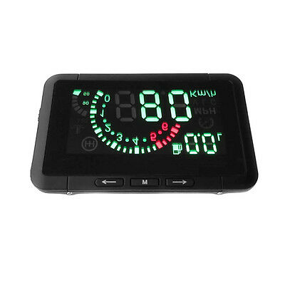 Universal Car Auto HUD Head Up Display OBDⅡ Overspeed Warning Fuel Consumption