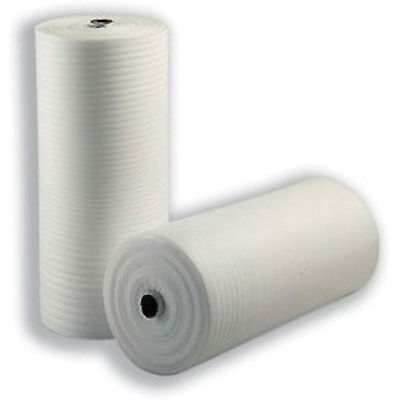 "10m 500 mm 20 "" FOAM roll of JIFFY wrap Underlay Packing Carpet THICK white new"