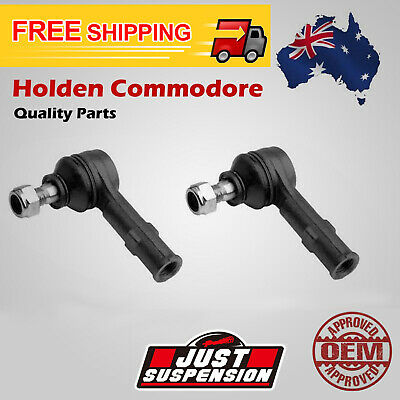 2 x Holden Commodore VR VS VT-1 Steering Rack Tie Rod End Set 1993-1999 Pair
