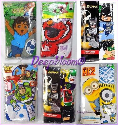 DC SUPER FRIENDS BOYS BRIEFS NEW 7-pack Toddler Boys Size 2T/3T 4T ...