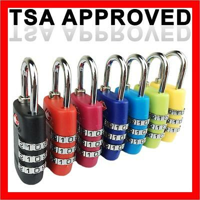 TSA Approved Combination Security Padlock for Travel Luggage Suitcase Locks Lock