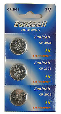 3 x CR2025 5003LC 3V Lithium Button Cell Coin Battery