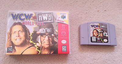WCW vs. NWO: World Tour  (Nintendo 64 N64, 1997) Comes with Universal Game Case!