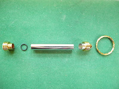 Woodturning KEYCHAIN (Secret Compartment) Kit in Gold