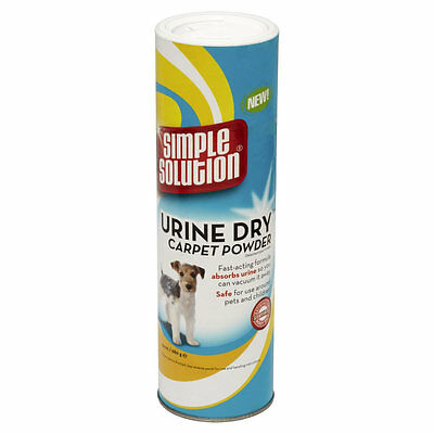 Simple Solution Urine Dry Fast Acting Stain Odour Remover Carpet Powder 680G