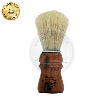 Semogue Owners Club Shaving Brush Premium Boar Cherry Wood Handle Edition - SOC