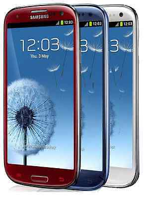 Samsung Galaxy S III SGH-I747 - 16GB (AT&T) Smartphone - Red - White - Blue