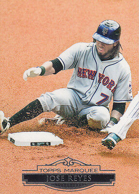 2011 Topps Marquee #79 Jose Reyes - NM-MT