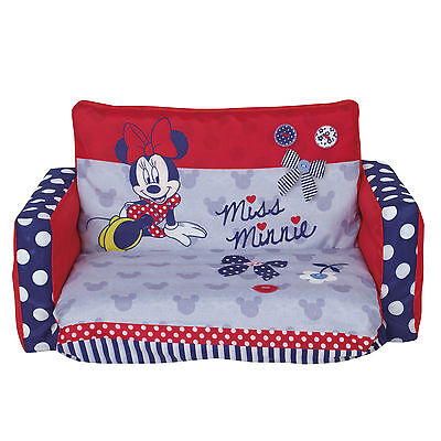 Worlds Apart Minnie Mouse Inflatable Flip Out Sofa bedroom furniture