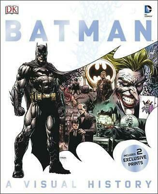 Batman a Visual History by Matthew K. Manning Hardcover Book