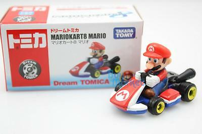 Takara Dream Tomica Tomy MARIO KART 8 Mario Diecast Toy Car 2014 Limited Edition