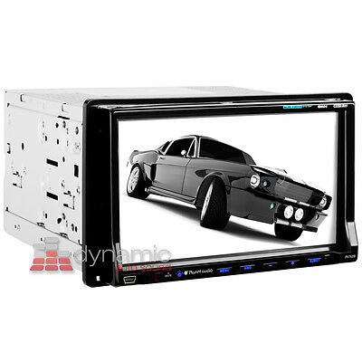"Planet Audio® P9752B Bluetooth Car Stereo DVD Player w/ 7"" LCD Touchscreen New"