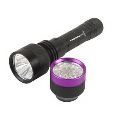 Steelman 96883 700lm Rechargeable Flashlight with UV Head Combo Kit
