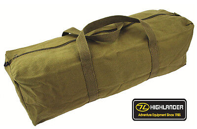 Mens Combat Army Military Equipment Tool Travel Canvas Pack Surplus Duty Kit Bag