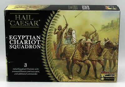 Hail Caesar WGH-CEM-04 Egyptian Chariot Squadron (3) 28mm Miniatures Bronze Age