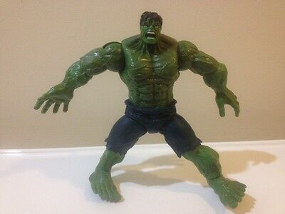 Marvel The Incredible Hulk 2007 Action Figure 6in. With Gray-Blue Jeans Rare!