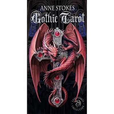 NEW Anne Stokes Gothic Tarot Deck Cards Lo Scarabeo