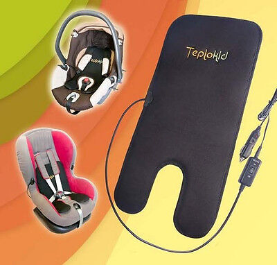Car Seat Heater for Kids (Kindersitzheizung) 550x270 mm (21х10 in), 12 Volt