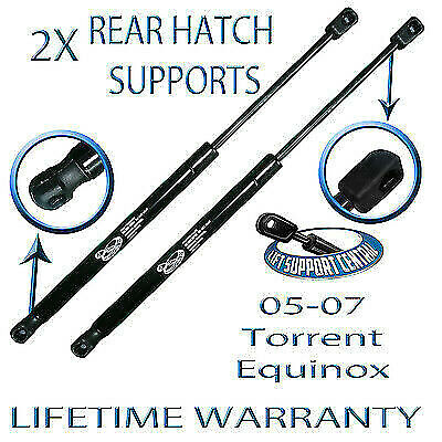 2 Rear Hatch Liftgate Tailgate Lift Supports Shock Strut Arm For Equinox Torrent