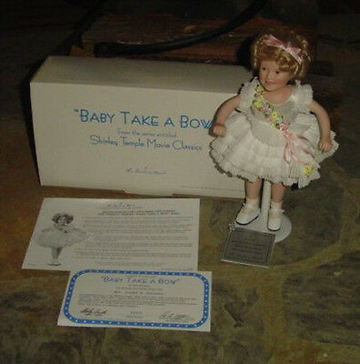 """Shilrey Temple from Danbury Mint-""""Baby Take A Bow"""""""
