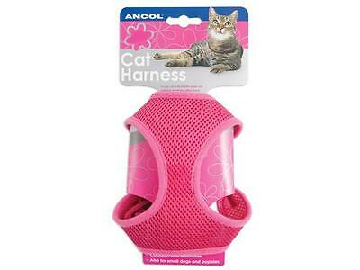 Ancol - Cat Harness and Lead Pink Combat Small