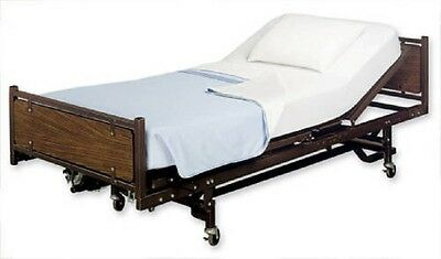 2 pack white hospital health care jersey knit fitted sheet