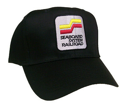 Seaboard System Railway Railroad Embroidered Cap #40-4620