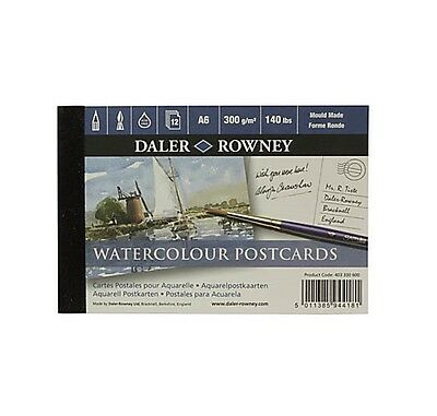 WATERCOLOUR POSTCARDS-300g/m2 BY DALER ROWNEY