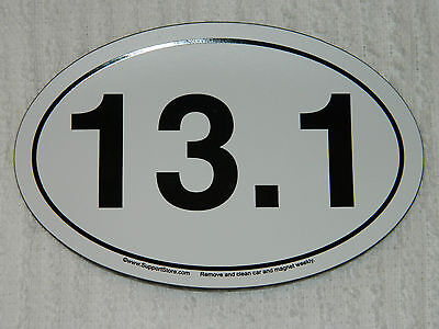 13.1 RUNNER'S CAR MAGNET/FRIDGE MAGNET/ TOOL BOX/ ANYWHERE METAL