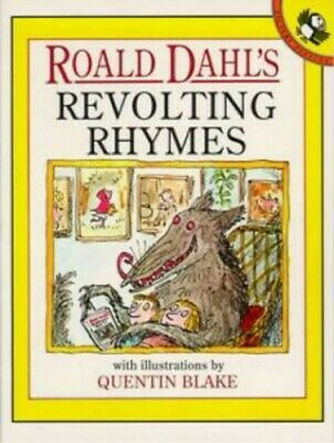 Revolting Rhymes (Picture Puffin), Dahl, Roald Paperback Book The Cheap Fast