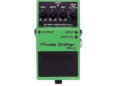 Boss Ph3 Phase Shifter Phaser Effetto A Pedale Per Chitarra Elettrica
