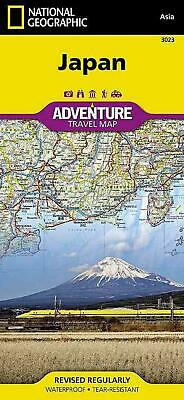 Japan: Travel Maps International Adventure Map by National Geographic Maps - Adv