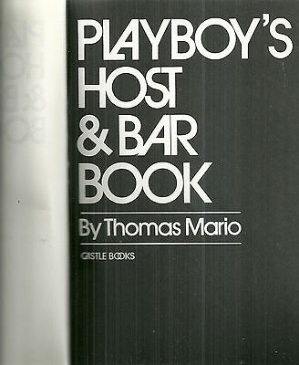 Playboy's Host & Bar Guide Thomas Mario Vintage Cocktail Book Recipes Mixology