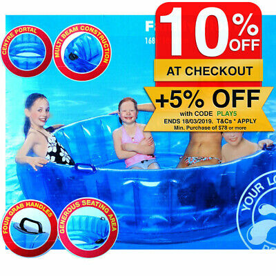 Inflatable Air Family Tube Floater Float/Ocean River Swimming Pool Lake Water