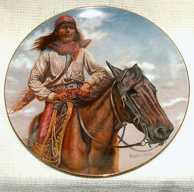 Vague Shadows LEd American Indian LG PLATE Chieftain Series CHIEF GERONIMO +Cert