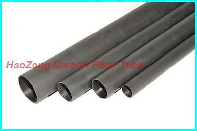 Roll Wrapped Carbon Fiber Tube 13mm*12mm*420mm, With 100% Japan import carbon