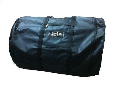Dhol Bag For Dhol Upro 25 Inches. Zip Bag. Padded From Bottom And Top