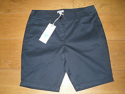 Lyle & Scott 2013 Ladies Club Stretch Shorts Navy Size 30 BNWT