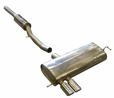 Milltek Sports Non Resonated Louder Cat Back Stainless Exhaust System - SSXAU120