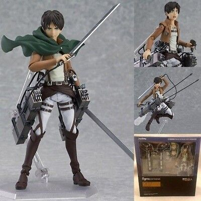 Attack On Titan Shingeki no Kyojin Eren Yeager Figma Figure CHN Ver. In Box