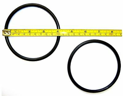 2x RUBBER MOTOR DRIVE BELT BQ Fits Lots of Machines Singer Jones Toyota  BLB59